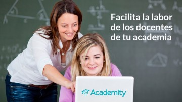 facilita la labor de tus docentes en tu academia