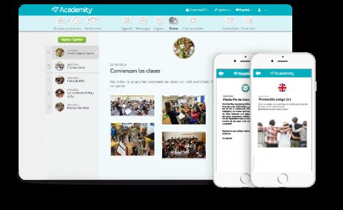 app para academias de Academity